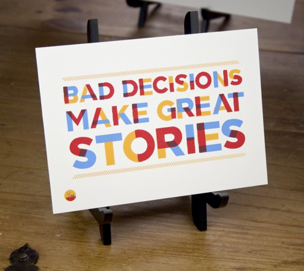 bad decision quotation