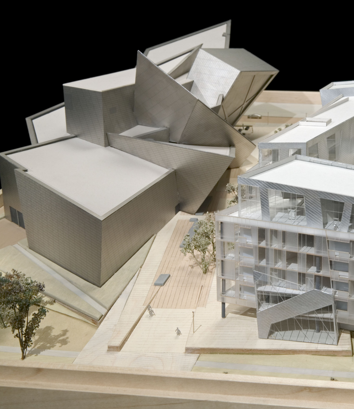All about architecture for Denver art museum concept