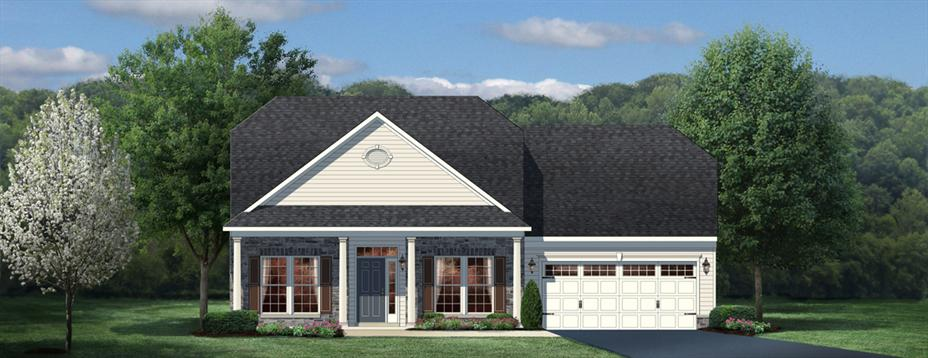 Ryan Homes Winterbrook With  Windows In Living Room