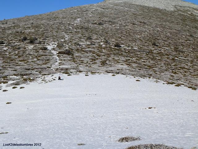 Collado de Tirobarra, hacia la Pinareja