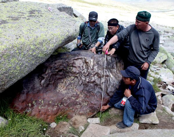 Meteorit besar ditemui di China