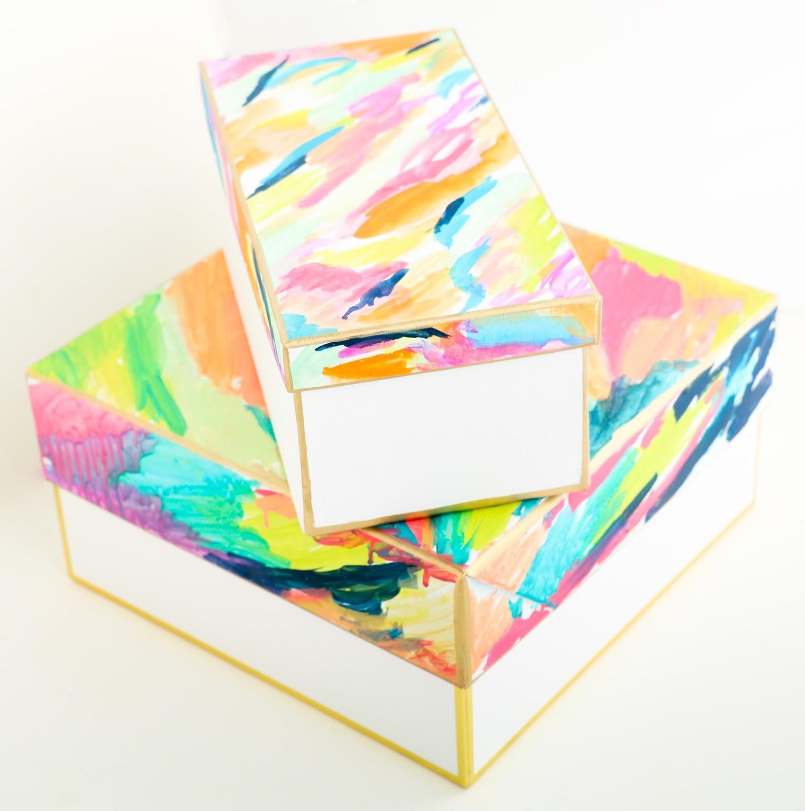 Organize It U2013 Colorful Storage Boxes