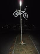 Imágenes de la Instalación de Bicicleta Blanca 04-04-12