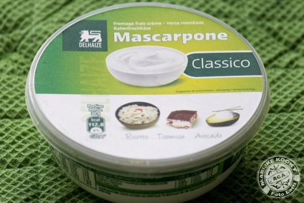 Mascarpone met bosvruchten