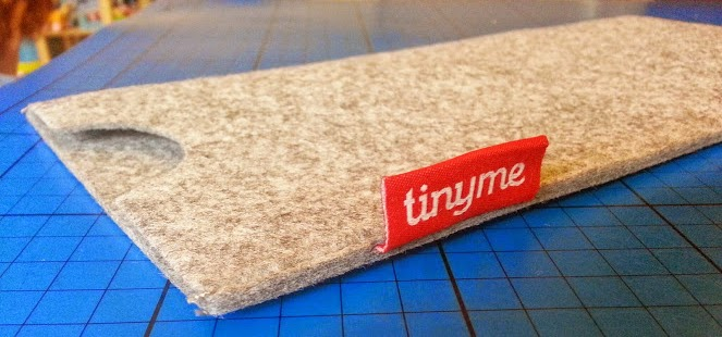 TinyMe Wooden Name Block Puzzles review felt storage case bag