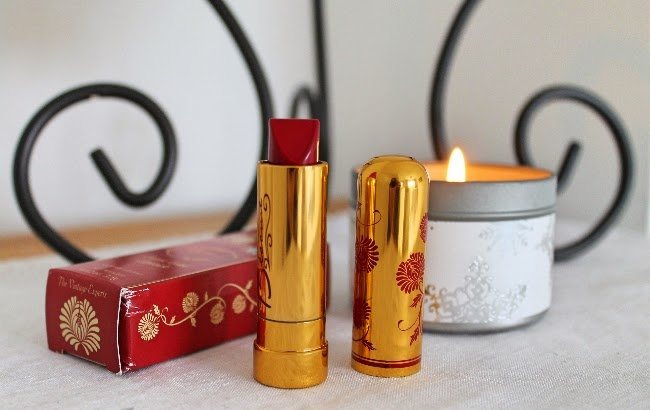 besame cosmetics american beauty lipstick via lovebirds vintage