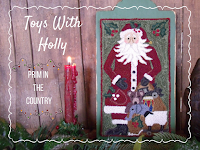 Toys With Holly Punch Needle Pattern $8.00