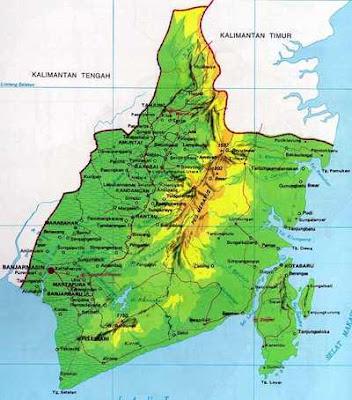 Nama kabupaten/ kota di Provinsi Kalimantan Selatan