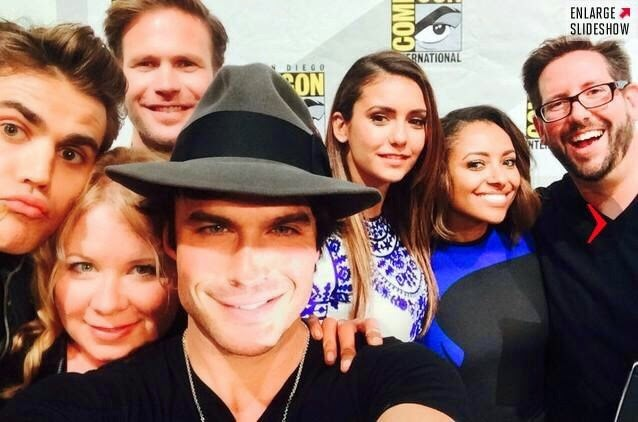 The Vampire Diaries - Comic-Con 2014 Panel and Cast Photos