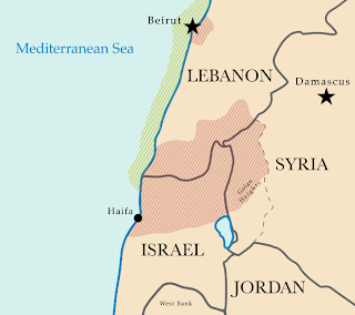 la proxima guerra mapa israel libano siria jordania hezbollah