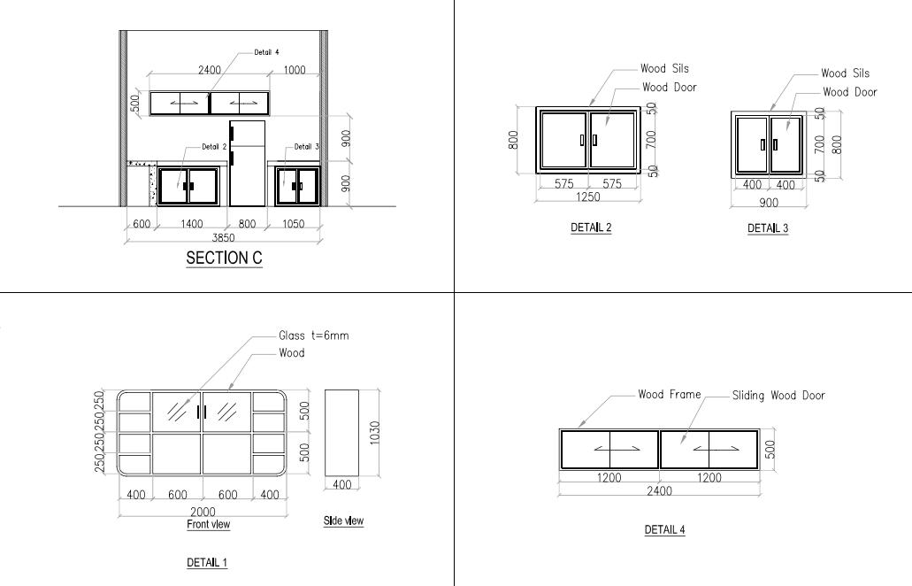 Interior Kitchen Set Architect Share