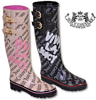 Rain Boots Juicy Couture