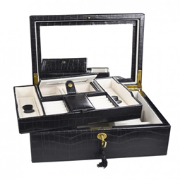 compartments and drawer jewelry boxes