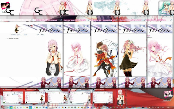 Theme 7 Yuzuriha Inori V2 – Guilty Crown 3