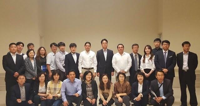 Funcionarios de Corea del Sur se reúnen con directivos del Patronato Cultur