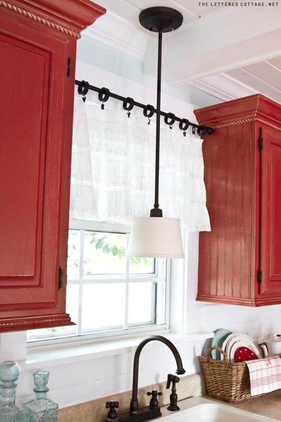 Fotos de cortinas para cocinas c mo dise ar cocinas for Cortinas para cocina