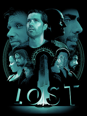 Gallery 1988 presents The Bad Robot Art Experience - LOST Screen Print by Joshua Budich