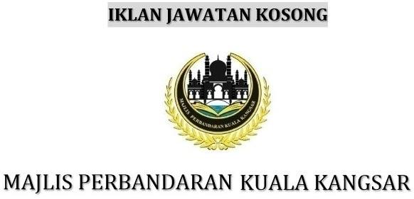 Iklan Kekosongan Kerja Majlis Perbandaran Kuala Kangsar Job Seeker 2020
