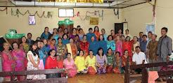 Wanita GKPS Salemba Kunjungan Kasih Diakonia Ke GKPS Hutaimbaru