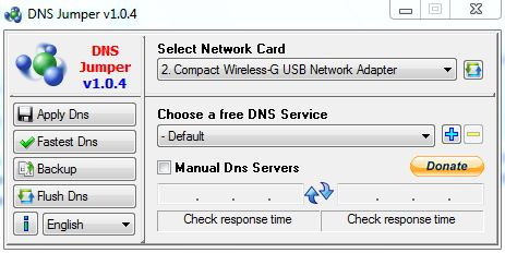DNS Jumper v1.04 Free Download