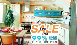 Paytm – Get flat 99% cashback on Home & Kitchen items