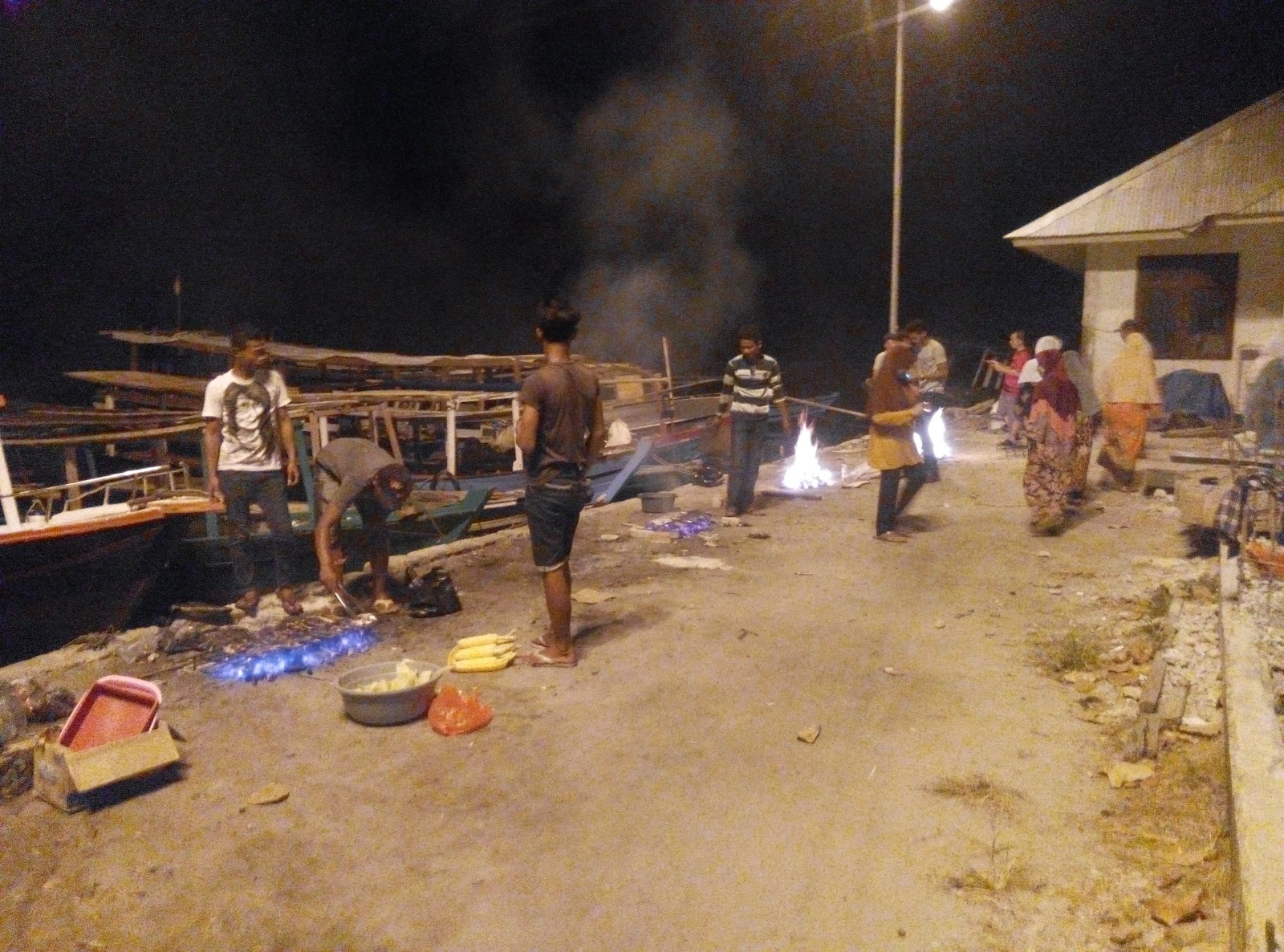 BBQ Party di Pulau Tidung