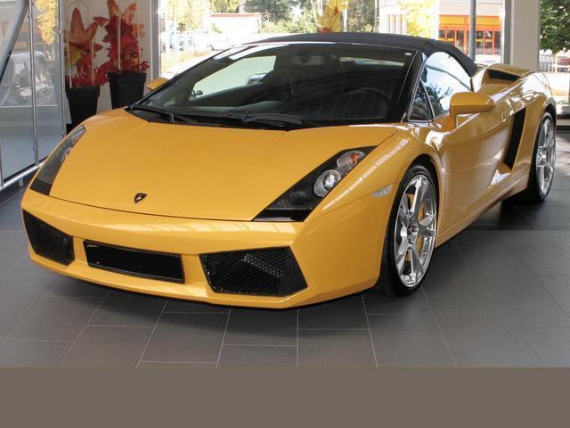 lamborghini gallardo spyder yellow | Cool Car Wallpapers
