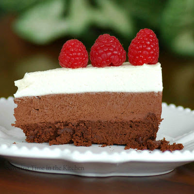 Savoring Time in the Kitchen: Triple Chocolate Mousse Cake