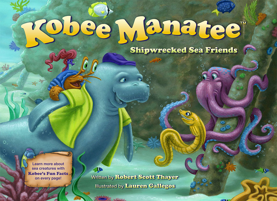 Kobee Manatee: Shipwreck Sea Friends