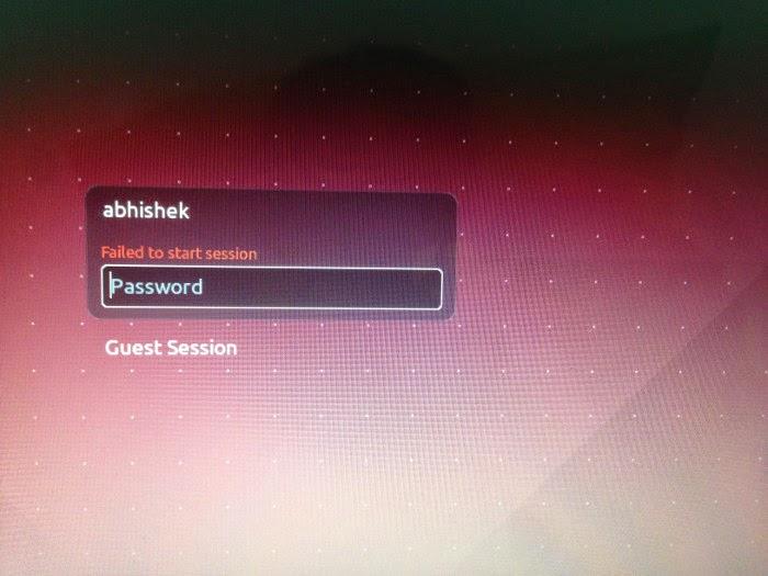 [SOLVED] Failed start to start session in Ubuntu 14.04