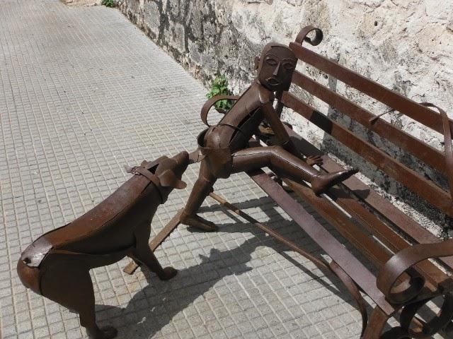 cartagena spania statuer