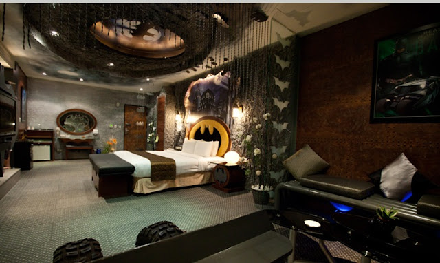 BATMAN BEDROOM IDEAS
