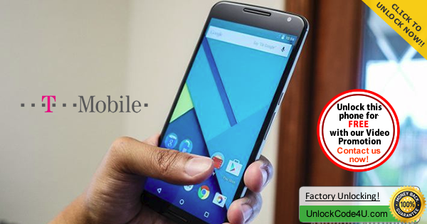 Factory Unlock Code for Motorola Nexus 6 from T-Mobile