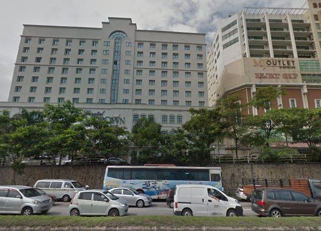 hotel crystal crown kuala lumpur malaysia berhantu