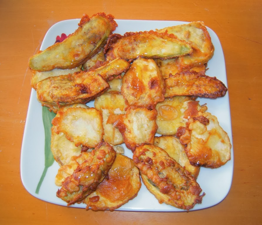 El placer de cocinar berenjenas con miel - Primeros platos faciles y originales ...