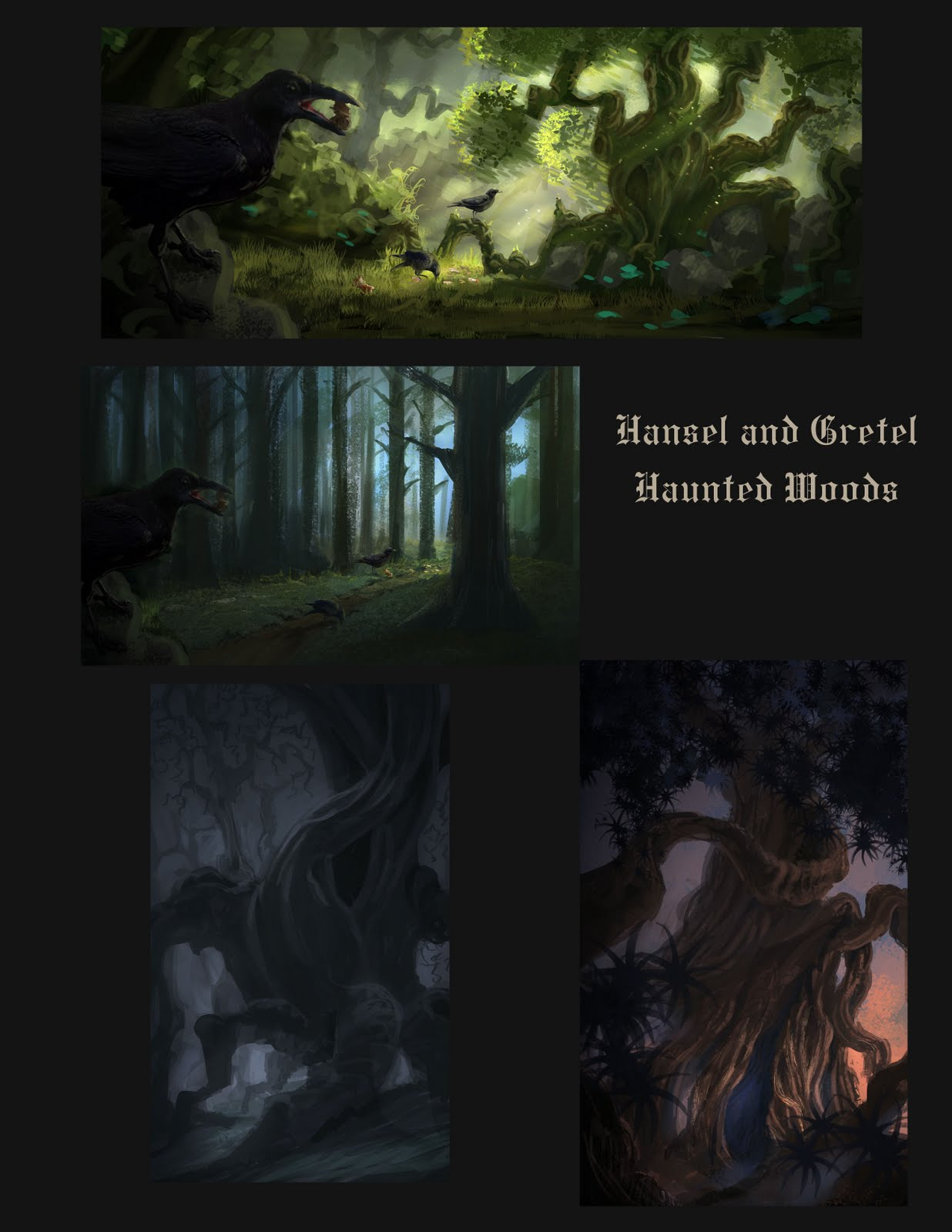 Hansel and gretel for Haunted woods ideas