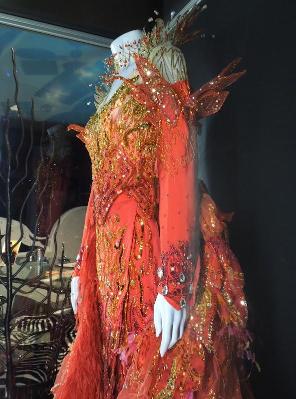 Cruella de Vil flame costume 102 Dalmatians