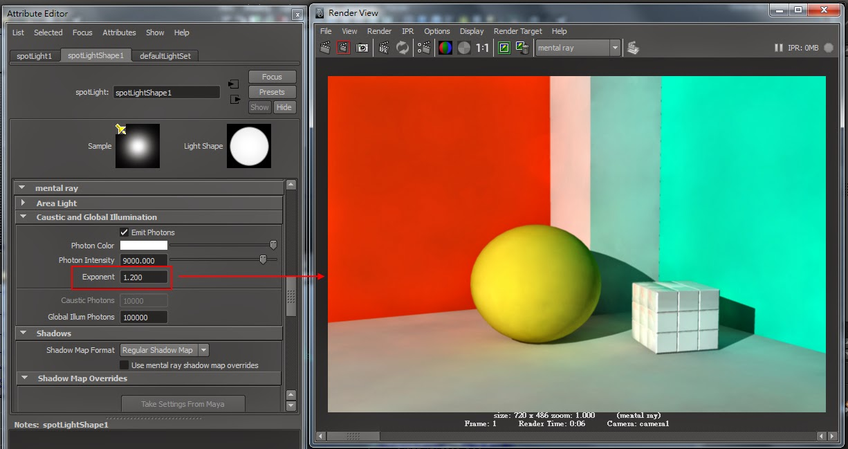 GI Render Setting in Maya 15
