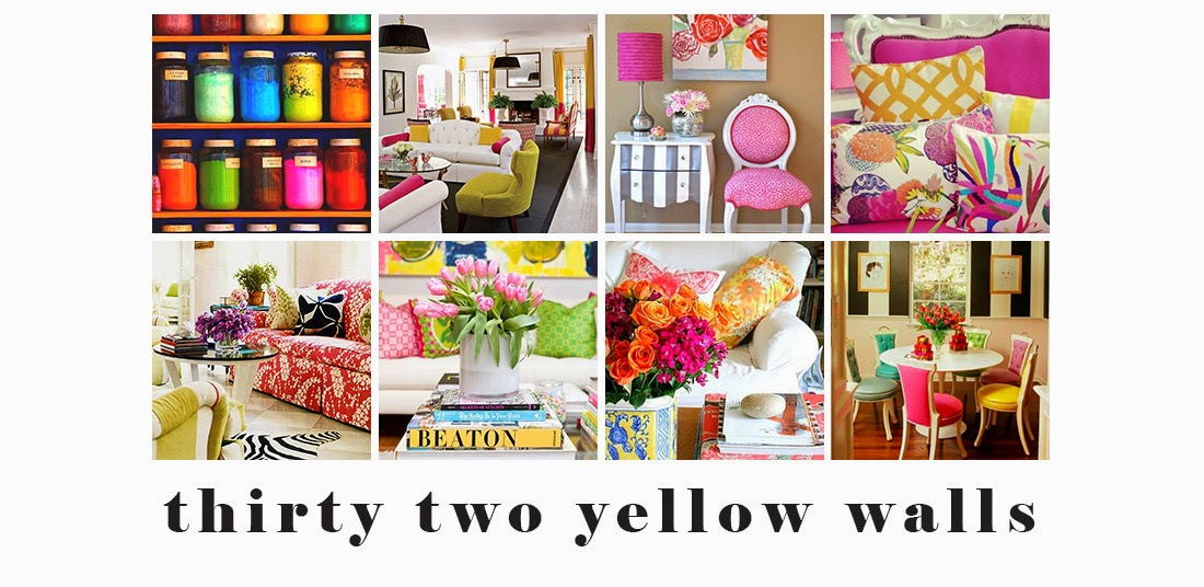 Thirty Two Yellow Walls