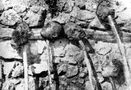 The Recognition of the genocides as the beginning of justice against the crimes against humanity and barbarity - Beheaded Armenians