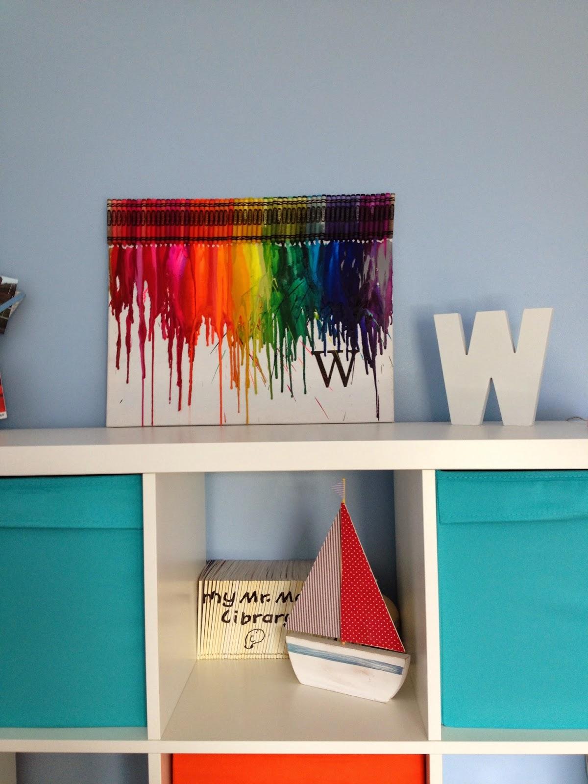 Ta Dah Crayola Art