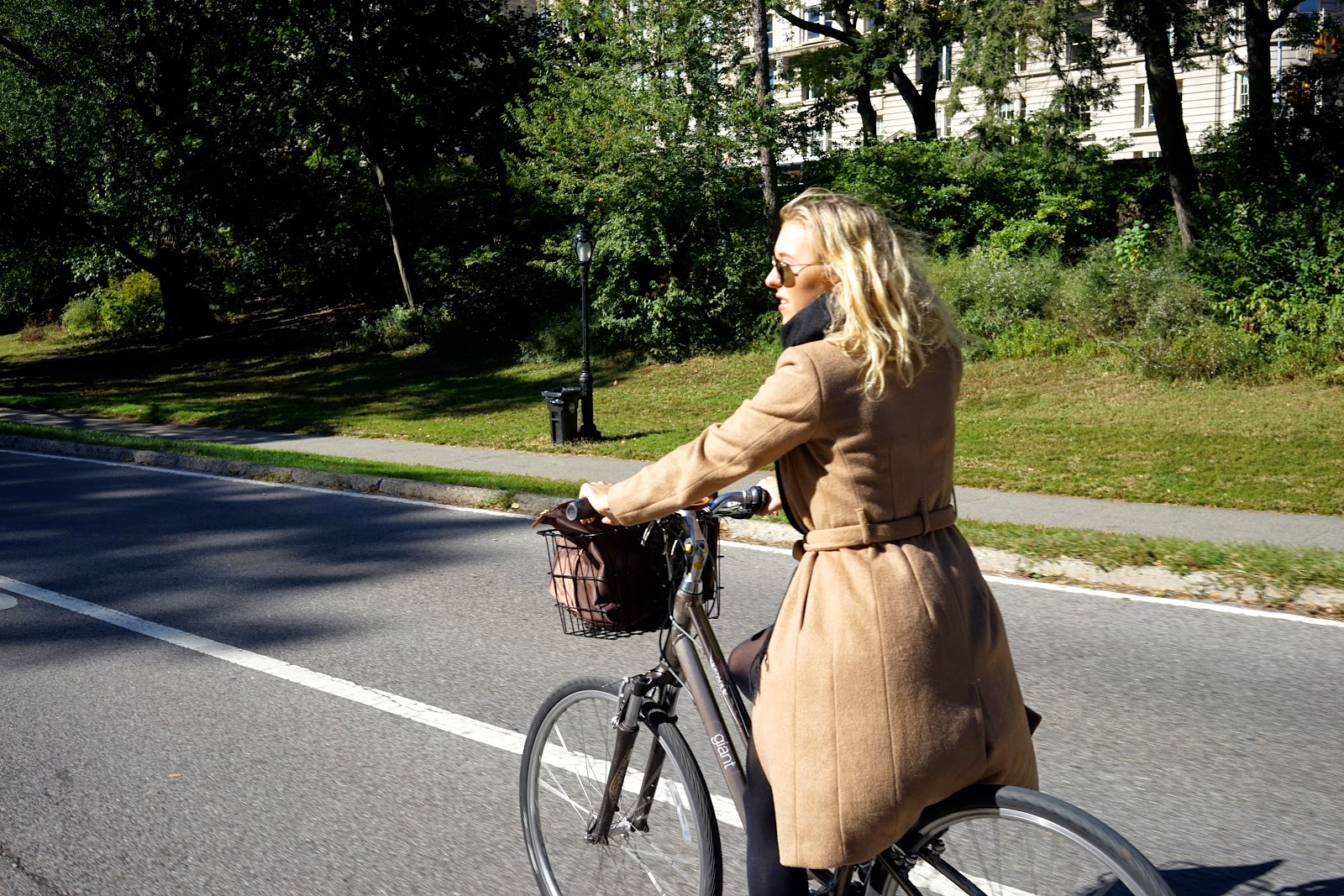 cycling around central park