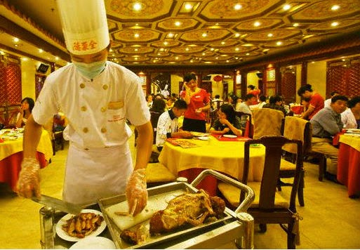 Beijing restaurant for dinner