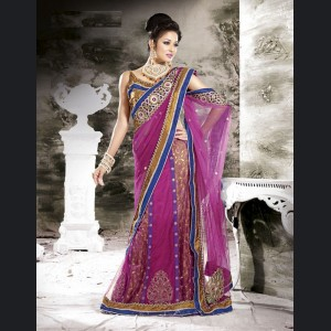 choli saree design