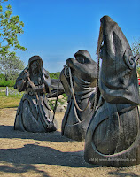 The Norns, Ribe, Denmark (copyright: cbl for www.BethFishReads)