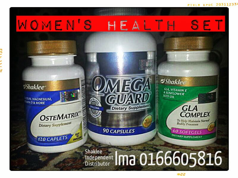 Supplement wanita Shaklee