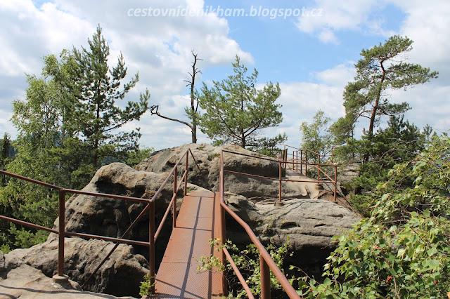 """na vrcholu zříceniny Šaunštejn // at the top of """"Saunstejn"""" Castle"""