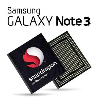 Rumors spingono al fatto che Samsung per il suo prossimo Note 3 utilizzerà un chipset Qualcomm Snapdragon 800