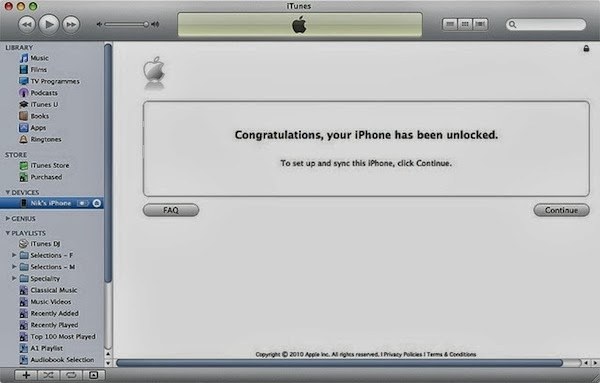 unlock iPhone Canada Bell