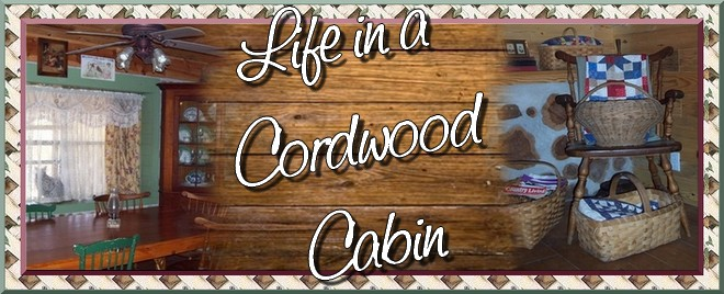 LIFE IN A CORDWOOD CABIN